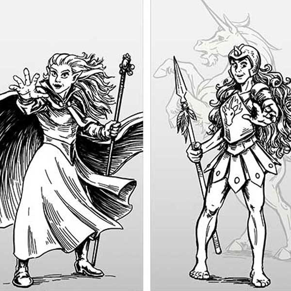 Adventurer Character Designs